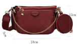 Luxury three in one bag_