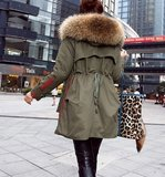 Fashion Parka Thick Jacket_