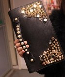 Shiny Black Clutch_