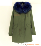 Long Fur Parka Jacket_