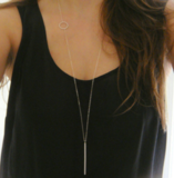 Spring Long Necklace_