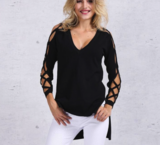 Lady Criss Cross Pullover_