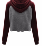 Bordeaux Grey Sweater_