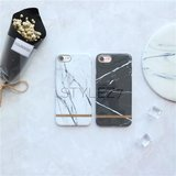 Marble gold iphone case _