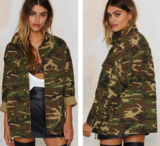 Army lady jacket_