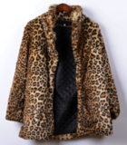Leopard fur jacket_