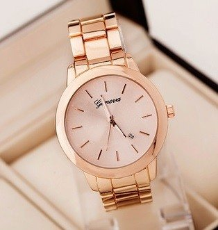 Musthave Rose Gold Watch