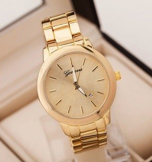 Musthave Golden Watch