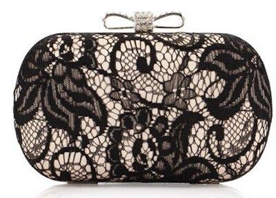 Lace Party Clutch