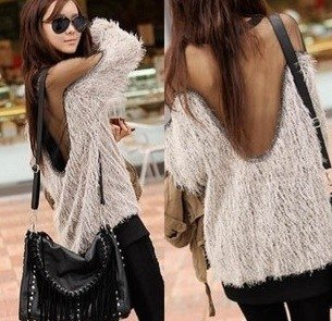 Sexy Fluffy Sweater