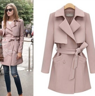 Perfect slim trendy coat