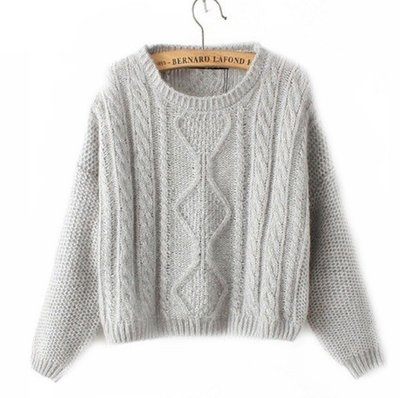 Pretty Light grey sweater