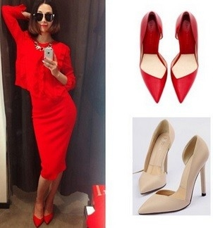 Open Pointed Pumps