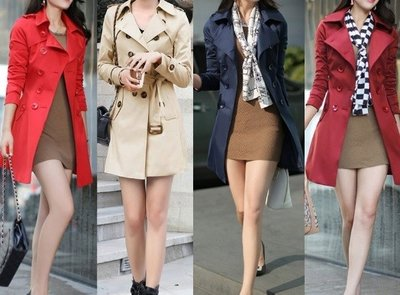Spring Long Trench Coat