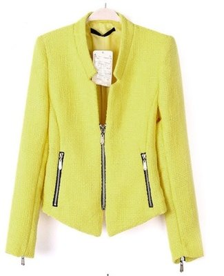 Yellow Short Jacket