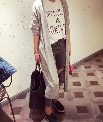 Long Lady Cardigan