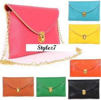 Rainbow Colour Clutch