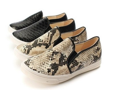 Snake Slip Shoes