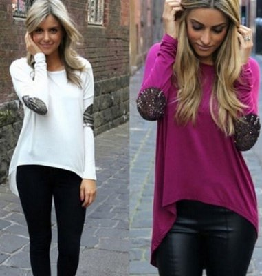 Glitter High Low T-shirt