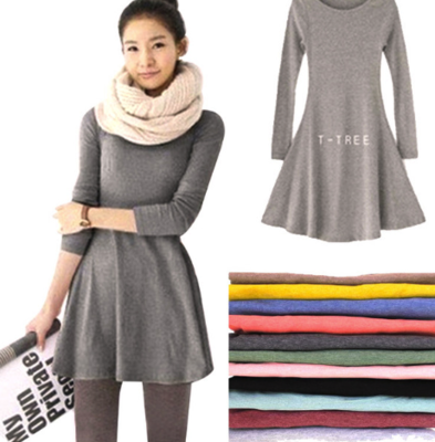 Basic One Colour Dress