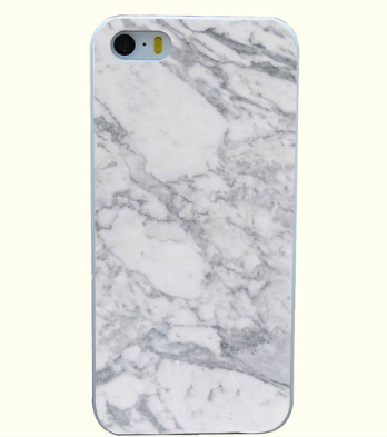 Marmer White Iphone case