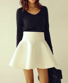 Classic high skirt