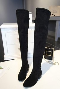 Flat fashion over knee boots