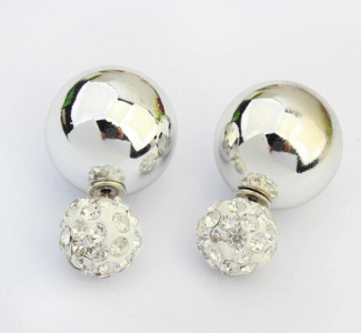 Two Balls Earrings
